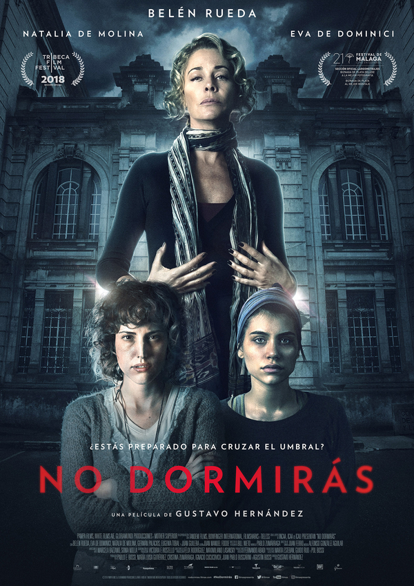 No dormirás - cartel definitivo