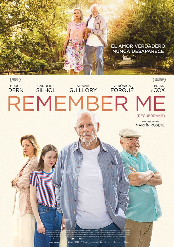 Cartel oficial REMEMBER ME